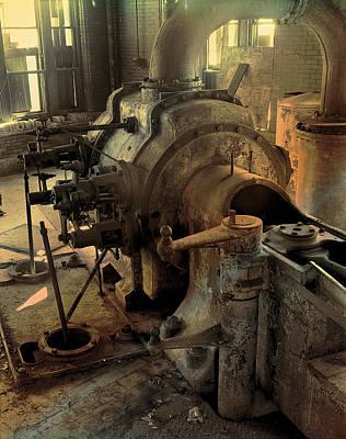 Steam Engine No 4 Poster