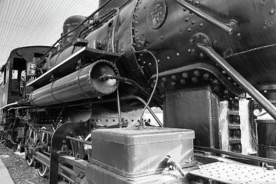 Poster featuring the photograph Steam Locomotive Side View by Doug Camara