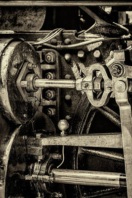 Steam Train Series No 10 Poster by Clare Bambers