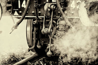 Steam Train Series No 3 Poster by Clare Bambers