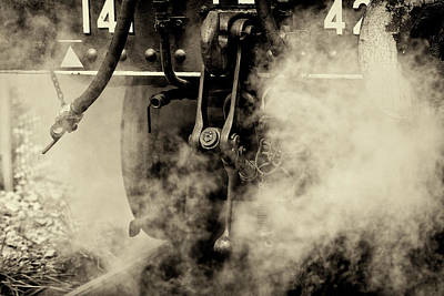 Steam Train Series No 4 Poster by Clare Bambers