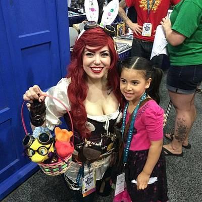 Steampunk Ariel #wondercon #wc2016 Poster