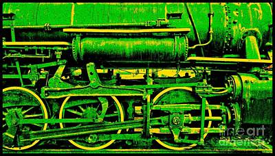 Steampunk Iron Horse No. 3 Poster