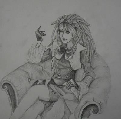 Steampunk Princess Poster by Clairessa Walker
