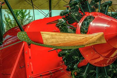 Stearman C3b Biplane Poster