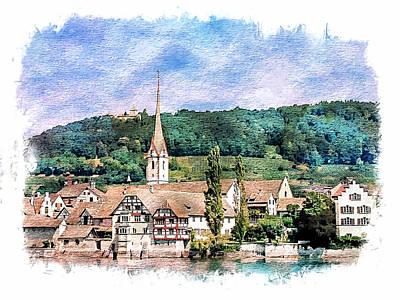 Stein Am Rhein  Poster by Joseph Hendrix
