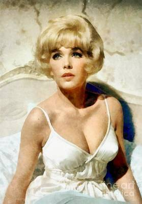 Stella Stevens, Vintage Actress By Frank Falcon Poster by Frank Falcon