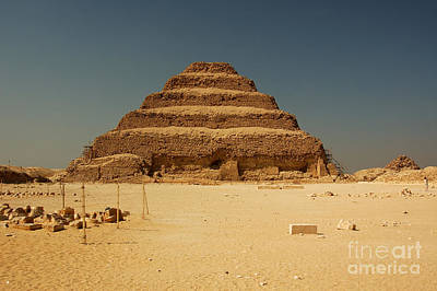 Step Pyramid 2 Poster by Joe  Ng