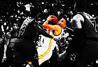 Stephen Curry Stay Focused Poster