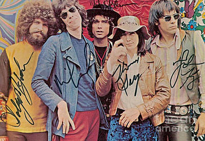 Steppenwolf Autographed Poster Poster by Pd
