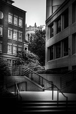 Steps In Charlotte Poster