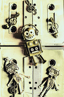 Stereo Robotics Art Poster by Jorgo Photography - Wall Art Gallery