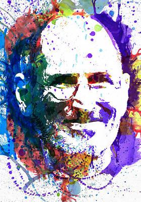 Steve Jobs Poster by Dante Blacksmith