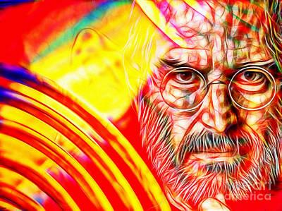 Steve Jobs In Color Poster
