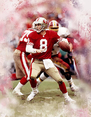 Steve Young Poster