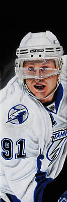 Steven Stamkos Poster by Marlon Huynh