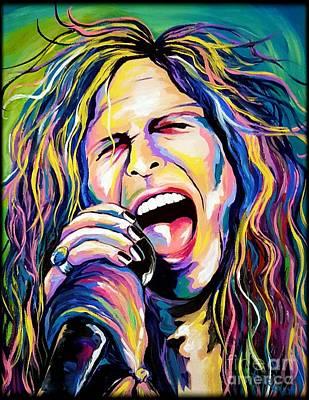 Steven Tyler Poster by Amy Belonio