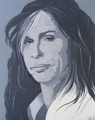 Steven Tyler Poster by Ken Jolly