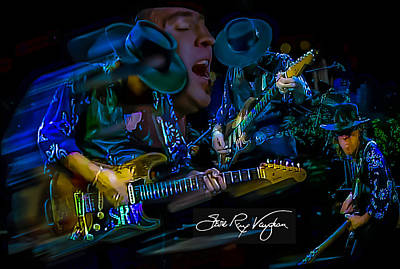 Stevie Ray Vaughan - Double Trouble Poster