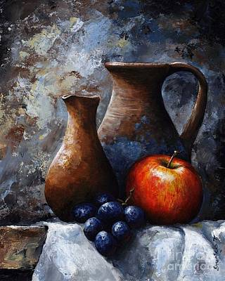Still Life 11 Poster by Emerico Imre Toth