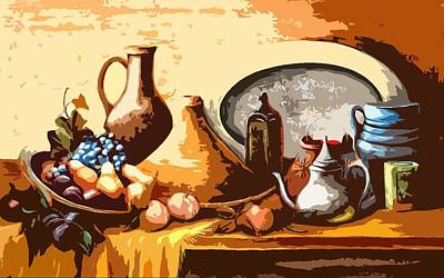 Still Life In Morocco Poster