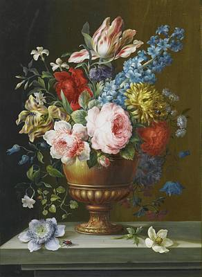 Still Life With A Rose Poster