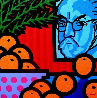 Still Life With Henri Matisse Poster by John  Nolan