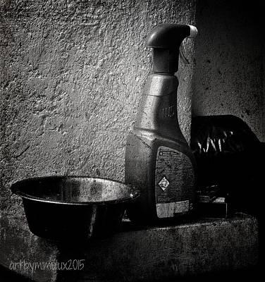 Still Life With Spraybottle - Still-leben Mit Spruehflasche Poster by Mimulux patricia no No