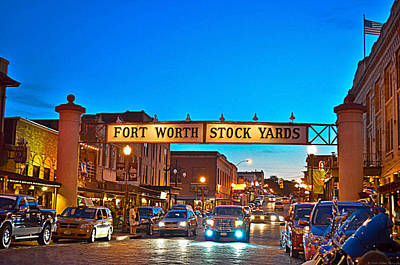 Stock Yards Poster