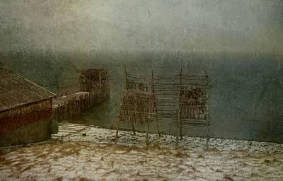 Stockfish Dryers Poster by Vittorio Chiampan