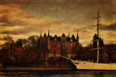 Stockholm In Autumn IIi Poster by Ramon Martinez