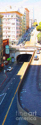 Stockton Street Tunnel In Heavy Shadow . Long Version Poster