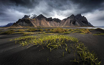 Stokksnes Poster by Sus Bogaerts