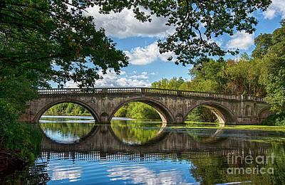 Stone Bridge Over The River 590  Poster
