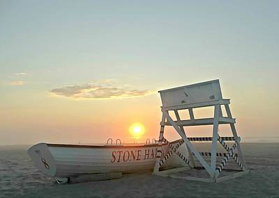 Stone Harbor Sunrise Poster