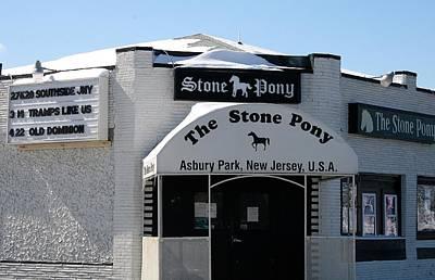 Stone Pony Asbury Park 2 Poster by Melinda Saminski