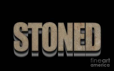 Stoned Tee Poster