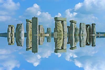 Stonehenge  Poster by Betsy Knapp