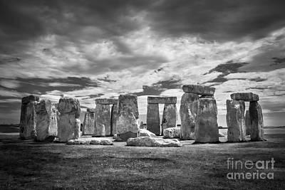 Stonehenge Poster by Marcin Rogozinski