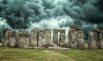 Stonehenge Storms Poster