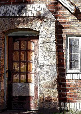 Storage Door Poster