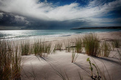 Storm At Antechamber Bay Poster by Anne Christie