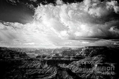 Poster featuring the photograph Storm Clouds by Scott Kemper
