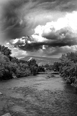 Storm Over Animas Poster by Matthew Angelo