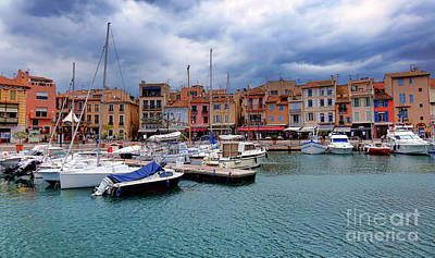 Storm Over Cassis Poster by Olivier Le Queinec