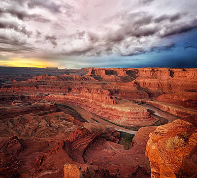 Storm Over Dead Horse Point Poster