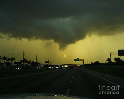 Storm Overhead Poster by Merton Allen
