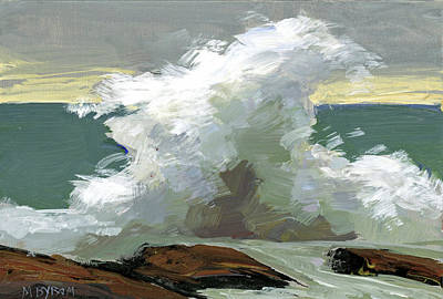 Storm Swept II  Poster by Mary Byrom