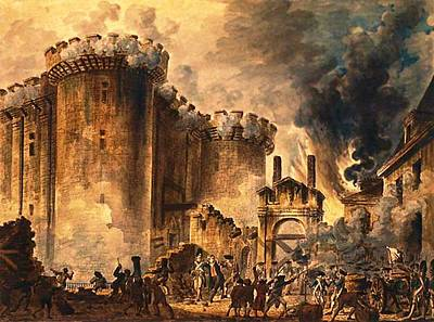 Storming Of The Bastille Poster
