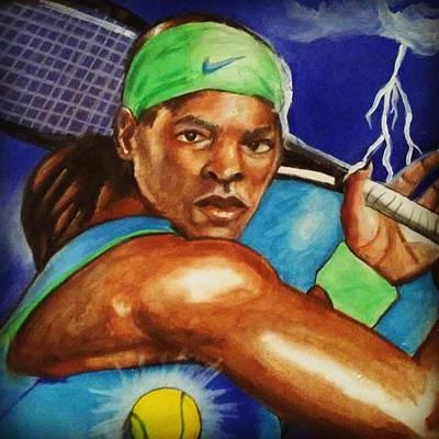 Storming Serena Poster